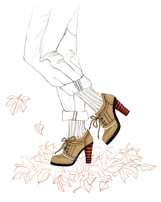 Chaussures Balenciaga de l'hiver dernier